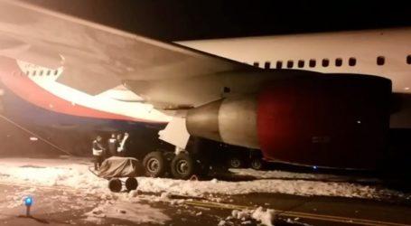Ανώμαλη προσγείωση ρωσικού αεροσκάφους στη Σιβηρία