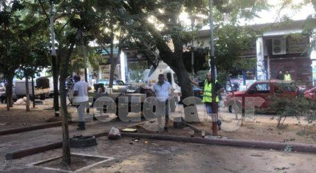 Έργα ανάπλασης στην πλατεία Εξαρχείων