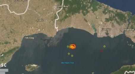 Σεισμός 5,9R στη θάλασσα του Μαρμαρά