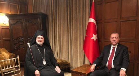 Συνάντηση του Αρχιεπισκόπου Αμερικής Ελπιδοφόρου με τον Ερντογάν