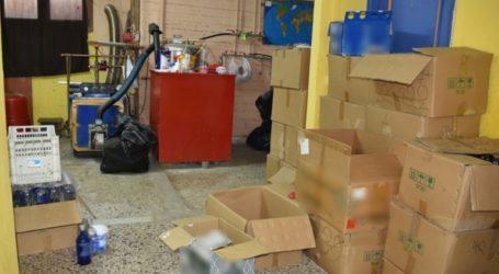 Είχαν στήσει παράνομο εργαστήριο ποτών στη Θεσσαλονίκη