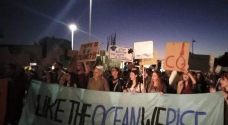 Συγκέντρωση και πορεία για την κλιματική αλλαγή στη Θεσσαλονίκη