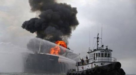 Τους 18 έφθασαν οι τραυματίες από την φωτιά σε δύο δεξαμενόπλοια