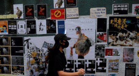 Την επέτειο του «κινήματος της ομπρέλας» τιμούν οι διαδηλωτές