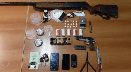 Ηράκλειο:Κοκαΐνη και όπλα στην κατοχή δύο νεαρών