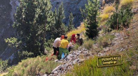 Άγιο είχε ο 63χρονος ορειβάτης που διασώθηκε στον Όλυμπο