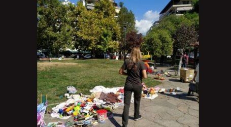 Επιχείρηση κατά του παρεμπορίου στο πάρκο Κρήτης