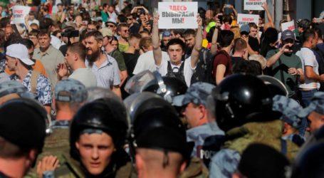 Χιλιάδες διαδηλωτές απαίτησαν την απελευθέρωση συλληφθέντων σε διαδηλώσεις