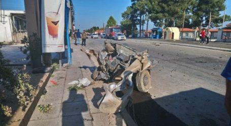 Βίντεο ντοκουμέντο από το τροχαίο δυστύχημα στη Θεσσαλονίκη