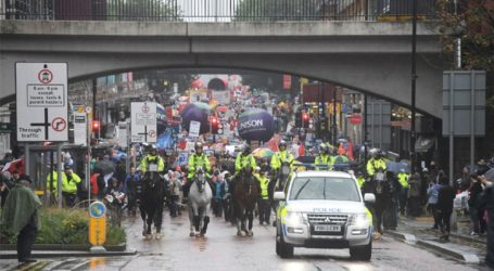 Με διαδήλωση «απάντησε» ο κόσμος στο Μάντσεστερ στο συνέδριο των Συντηρητικών