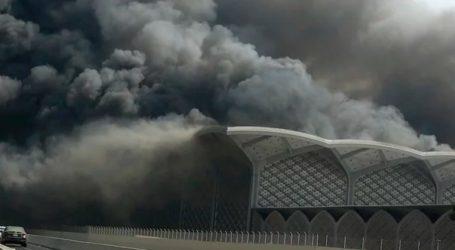 Πέντε τραυματίες από την πυρκαγιά σε σιδηροδρομικό σταθμό στην Τζέντα