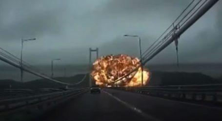 Καρέ- καρέ οι εκρήξεις σε δύο δεξαμενόπλοια στη Ν. Κορέα