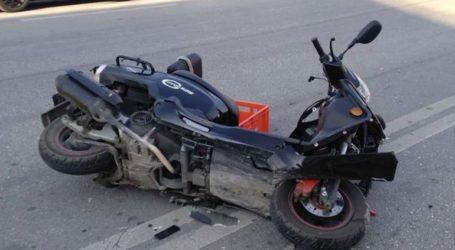 Ένας τραυματίας από τροχαίο ατύχημα στο κέντρο της Λάρισας