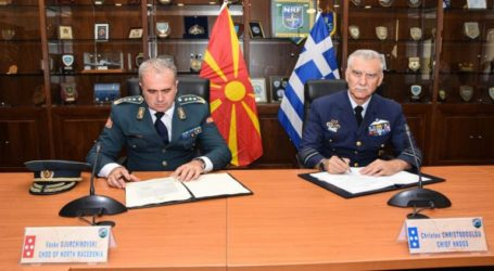 Ελληνικά μαχητικά θα αστυνομεύουν τον εναέριο χώρο της Βόρειας Μακεδονίας