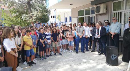 Επιμνημόσυνη δέηση για την αδικοχαμένη μαθήτρια στον Αλμυρό μετά τον αγιασμό