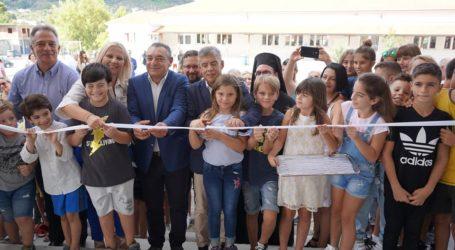 Το νέο κτίριο του Δημοτικού σχολείου Αλοννήσου εγκαινιάστηκε σήμερα