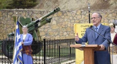 Στις επετειακές εκδηλώσεις της Μάχης της Πέτρας ο Γιώργος Σούρλας [εικόνες]