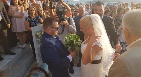 Παντρεύτηκαν δύο αντιδήμαρχοι του Βόλου [εικόνες]