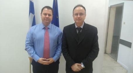 Με τον Γ.Γ. Εμπορίου συναντήθηκε ο Τέλης Μπασδάνης
