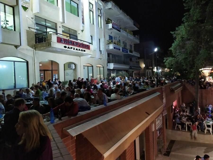 Χιλιάδες επισκεπτών στις εκδηλώσεις της 14ης Γιορτής Χαλβά Φαρσάλων