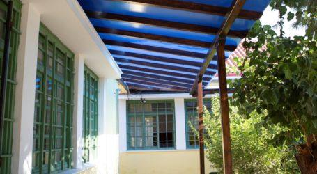 Αναβαθμίζεται το 1ο Δημοτικό σχολείο Αγριάς με τη στήριξη της ΑΓΕΤ ΗΡΑΚΛΗΣ