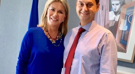 Στον Υπουργό Τουρισμού η Ζέττα Μακρή για ζητήματα της Μαγνησίας