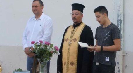 Σε σχολεία του Τυρνάβου για τον αγιασμό ο Γιάννης Κόκκουρας