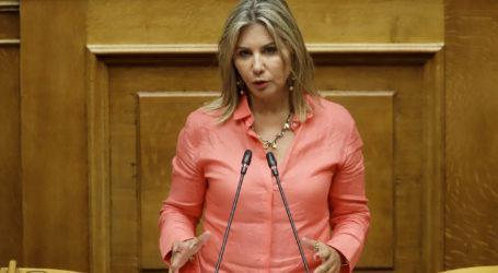Κοινοβουλευτική Αναφορά της Ζέττας Μακρήγια την αναστολή ΦΠΑ στις νεοαναγειρόμενες οικοδομές