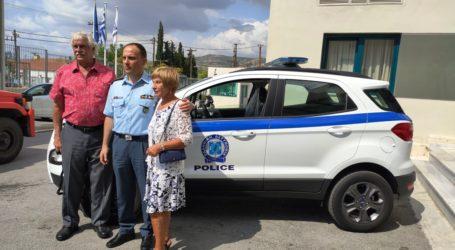 Ομογενής από τη Ζαγορά δώρισε περιπολικό στην Αστυνομία – Τιμήθηκε σήμερα στον Βόλο
