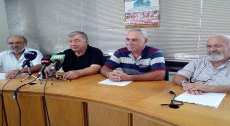 Πανθεσσαλική συγκέντρωση διαμαρτυρίας των συνταξιούχων στις 3 Οκτωβρίου