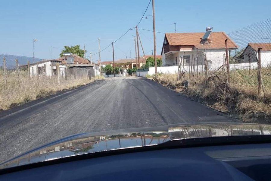 Ευαγγέλου για ασφαλτοστρώσεις στο Μεσοχώρι: «Στηρίζουμε τις τοπικές κοινωνίες»