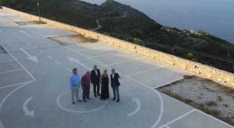 Εγκαινιάστηκε το δημόσιο και δωρεάν πάρκινγκ στη Χώρα της Αλοννήσου