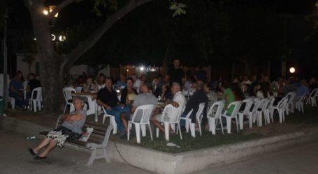 Διευκρινίσεις 4ης Δημοτικής Κοινότητας για τη λαϊκή βραδιά το Σάββατο 7 Σεπτεμβρίου στα Πυροβολικά
