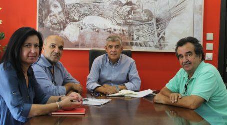 Με τον νέο Δήμαρχο Αλμυρού Βαγγέλη Χατζηκυριάκο συναντήθηκε ο Περιφερειάρχης Θεσσαλίας Κώστας Αγοραστός
