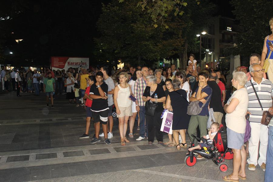 Ξεκίνησε η 8η Διεθνής Συνάντηση Φιλαρμονικών στη Λάρισα (φωτο - βίντεο)