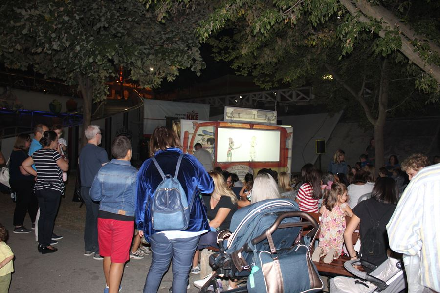 Ξεκίνημα με «Τσολιά» για το 45ο φεστιβάλ της ΚΝΕ στη Λάρισα (φωτο)