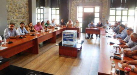 Αυτό είναι το νέο Προεδρείου του Δημοτικού Συμβουλίου του Δήμου Τεμπών