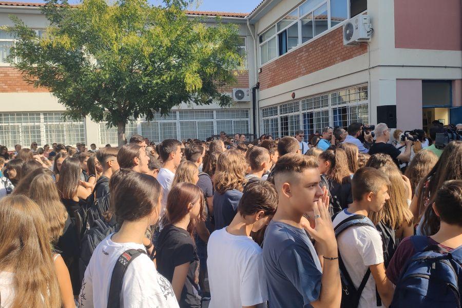 Ο αγιασμός στο Μουσικό Σχολείο Λάρισας - Δείτε φωτογραφίες