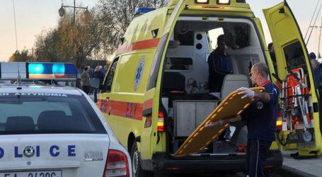 Βόλος: Επιχείρηση διάσωσης ηλικιωμένου που έπεσε σε ρέμα