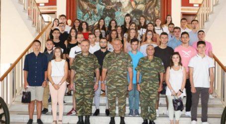 Βραβεύτηκαν τα παιδιά στρατιωτικών και υπαλλήλων της 1ης Στρατιάς που εισήχθησαν στα Πανεπιστήμια