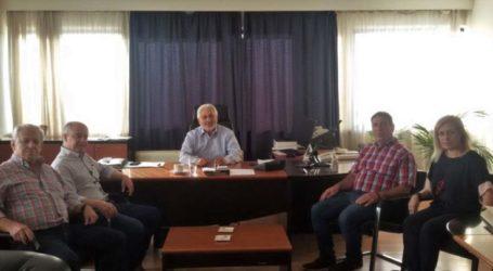 Εθιμοτυπική επίσκεψη Γ. Μανώλη στo Συντονιστή Αποκεντρωμένης Διοίκησης Θεσσαλίας – Στερεάς Ελλάδας