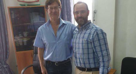 Το Κέντρο Υγείας Βόλου επισκέφθηκε ο βουλευτής ΝΔ Κων. Μαραβέγιας