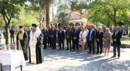 """Στις εκδηλώσεις """"Ελευθέρια"""" ο Διοικητής της 1ης Στρατιάς"""