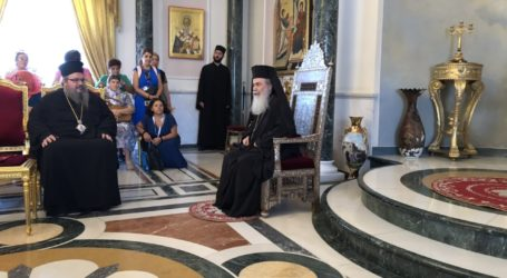 Λαρισαίοι Προσκυνητές μαζί με τον Ιερώνυμο, Στην Αγία Γη Των Ιεροσολύμων (φωτο)