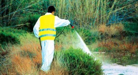 Συνεχίζονται οι ψεκασμοί κουνουποκτονίας σε Βόλο και Μαγνησία
