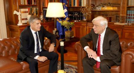 Τον Πρόεδρο της Δημοκρατίας θα επισκεφτεί τη Δευτέρα ο Περιφερειάρχης Θεσσαλίας
