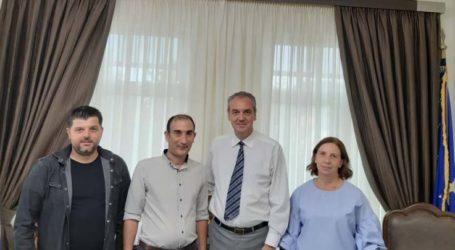 Συνάντηση της δημοτικής οργάνωσης ΚΙΝ.ΑΛ. με το Δήμαρχο Ελασσόνας