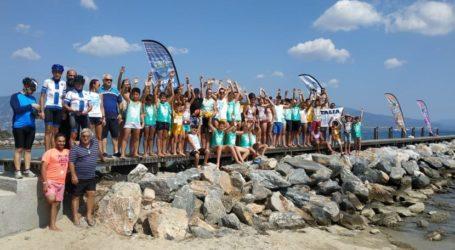 Τιμητική συμμετοχή της αγωνιστικής ομάδας κολύμβησης της Νίκης Βόλου στο Παγκόσμιο τουρνουά BEACH WATER POLO