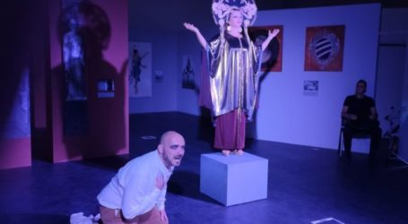Τη «Μήδεια» του Ευριπίδη απόλαυσε το λαρισινό κοινό στο Διαχρονικό Μουσείο Λάρισας (φωτο)