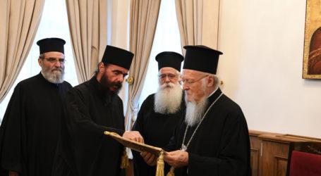 Στο Οικουμενικό Πατριαρχείο ο Μητροπολίτης Δημητριάδος Ιγνάτιος